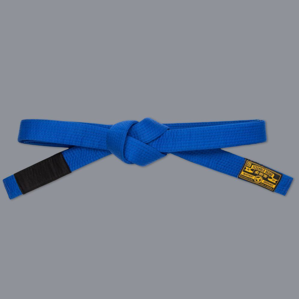 Scramble BJJ Belt V3 - Blue