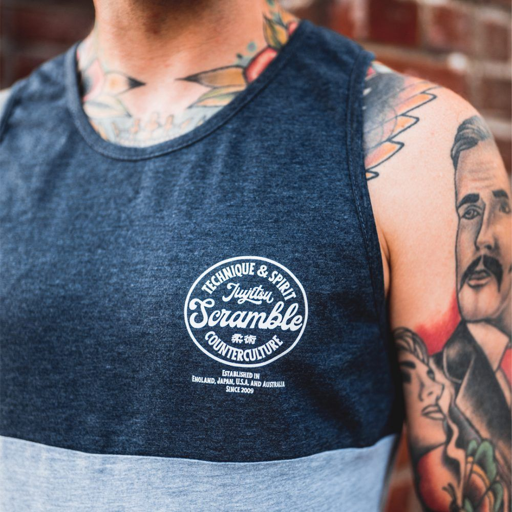 Scramble Technique & Spirit Vest - Grey/Navy