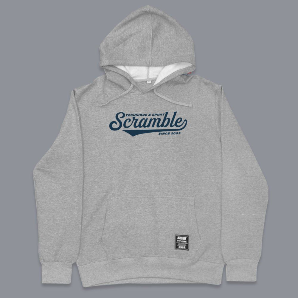 Scramble Technique and Spirit Pullover Hoodie - Grey