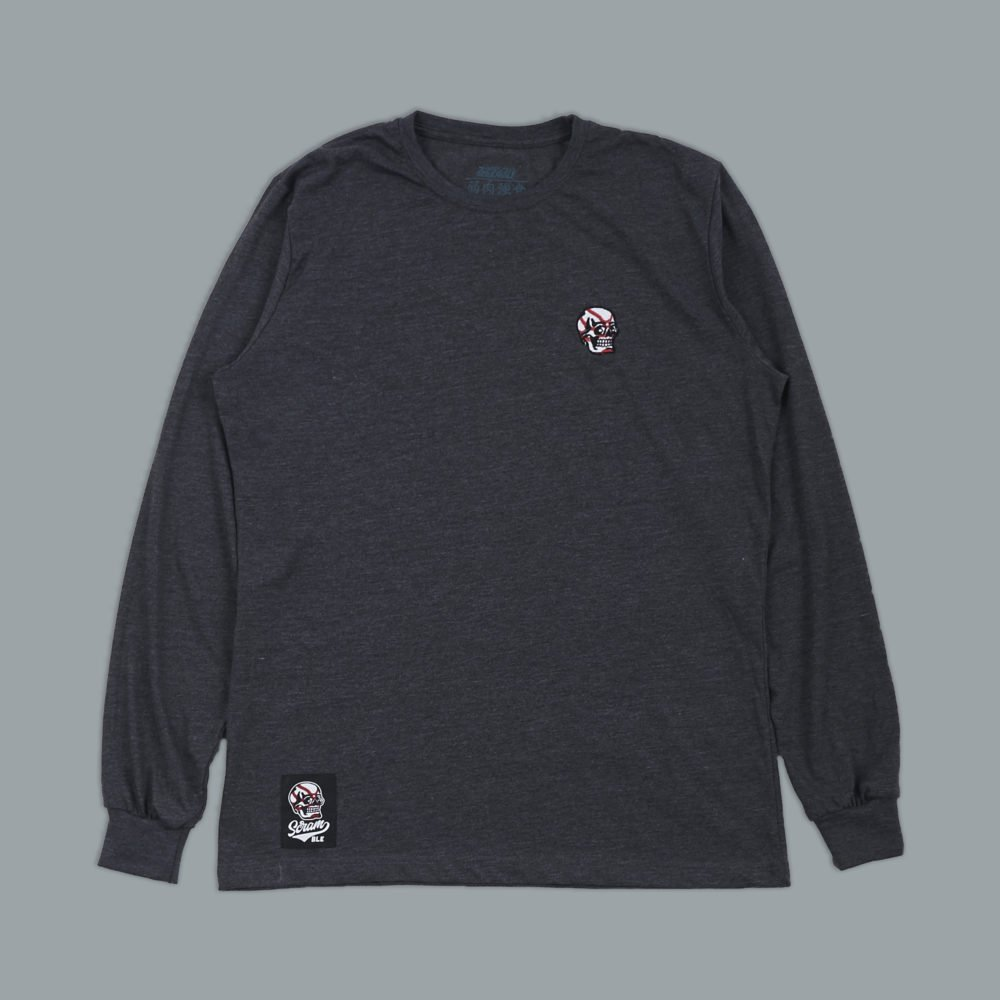 Scramble Skabuki Long Sleeved Tee - Grey