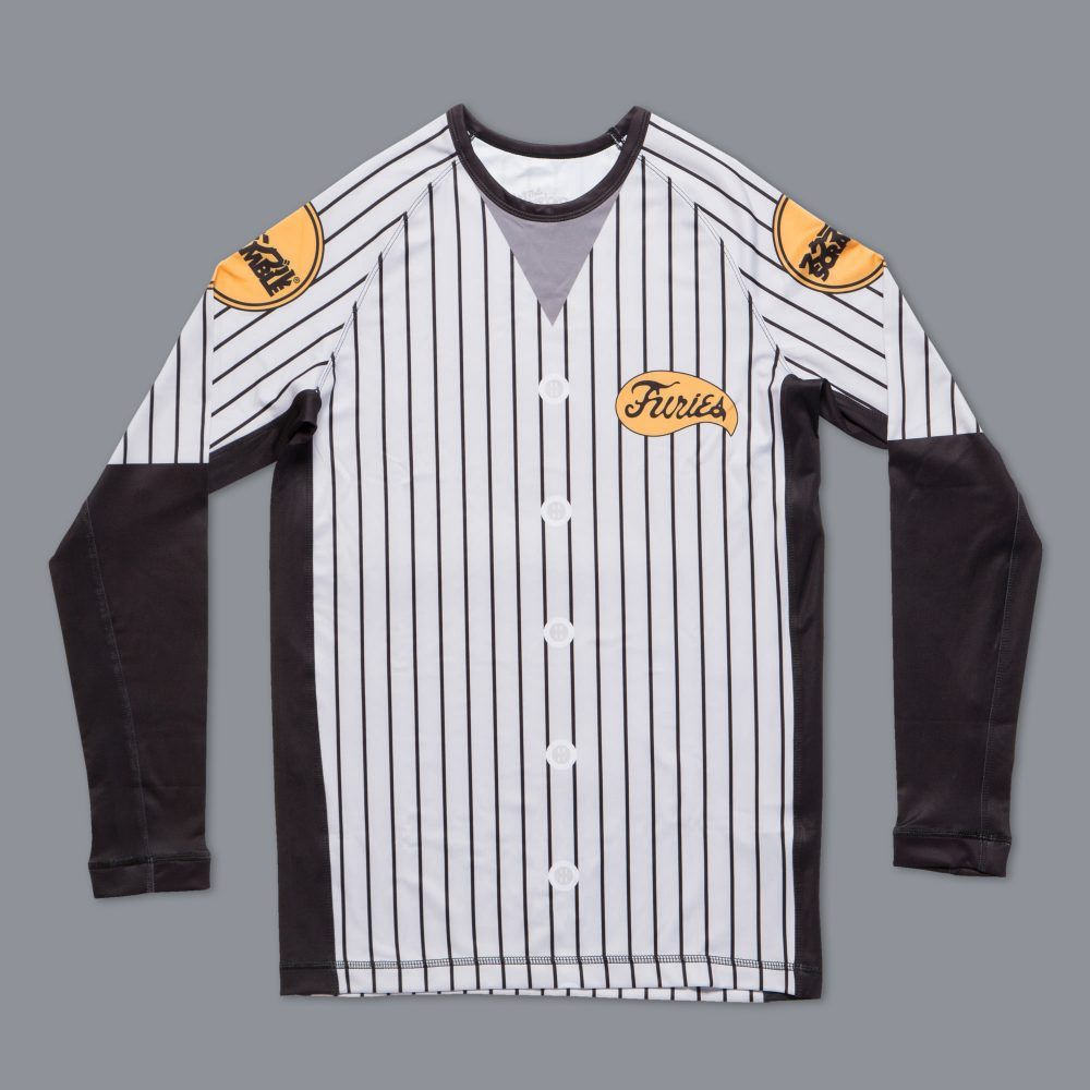 Scramble x The Baseball Furies Official Rash Guard