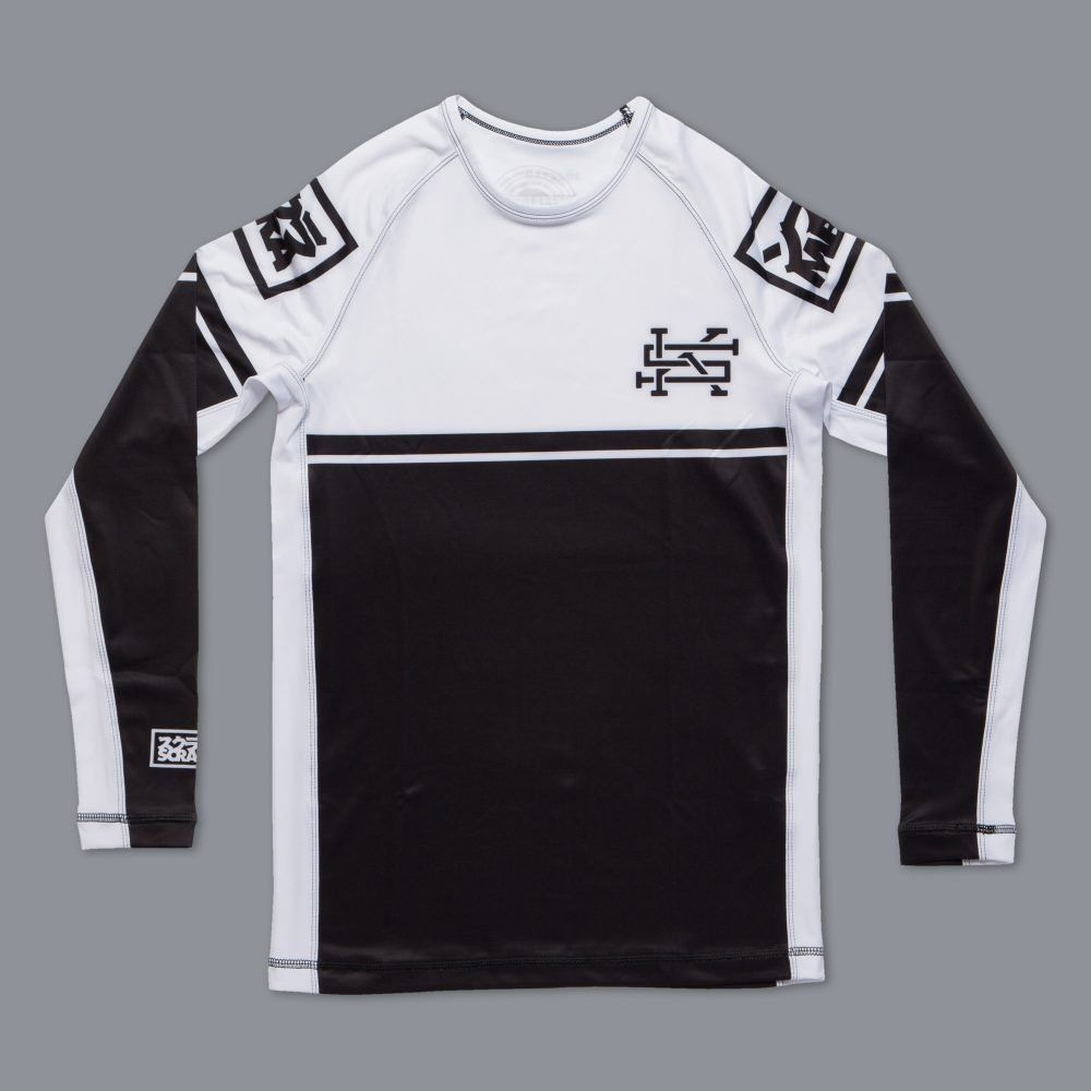 Scramble Ranked Rashguard (V2) - White