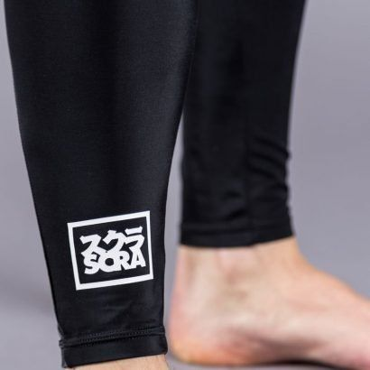 Scramble All Black Grappling Spats