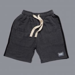 Scramble 'State of No Mind' Casual Shorts - Charcoal
