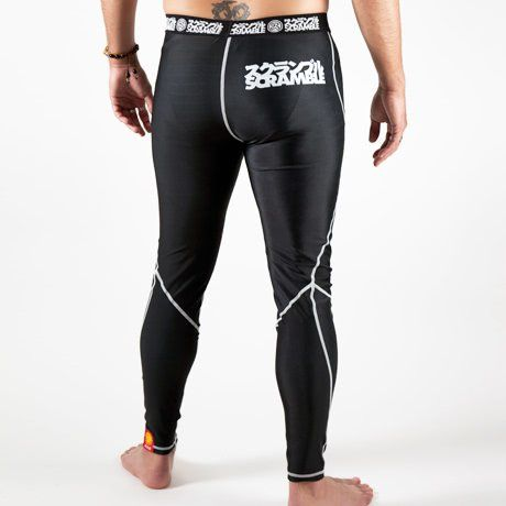 Scramble Grappling Spats V2.0 - Black