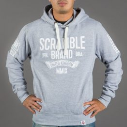 Scramble MMIX Hoody - Heather Grey