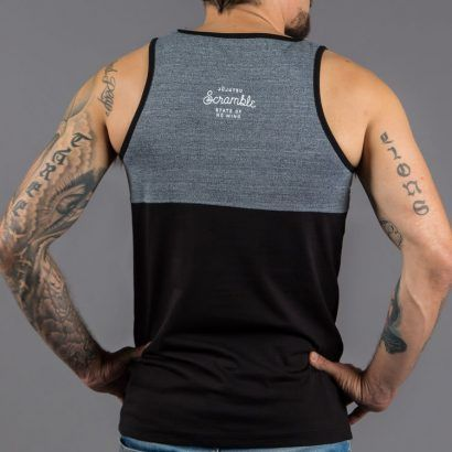 Scramble 'State of No Mind' Vest - Grey