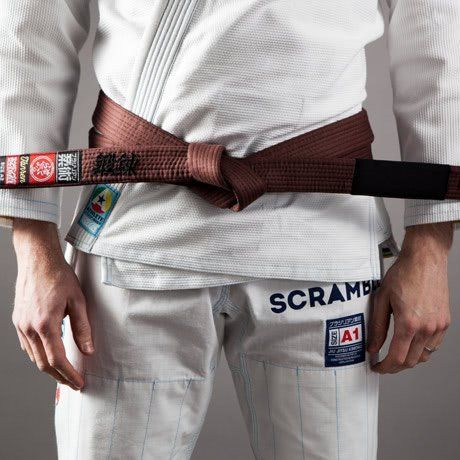 Scramble BJJ Belt - Brown