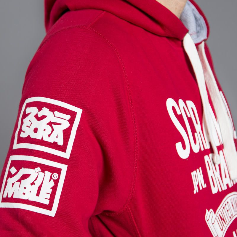 Scramble MMIX Hoody - Chilli Red