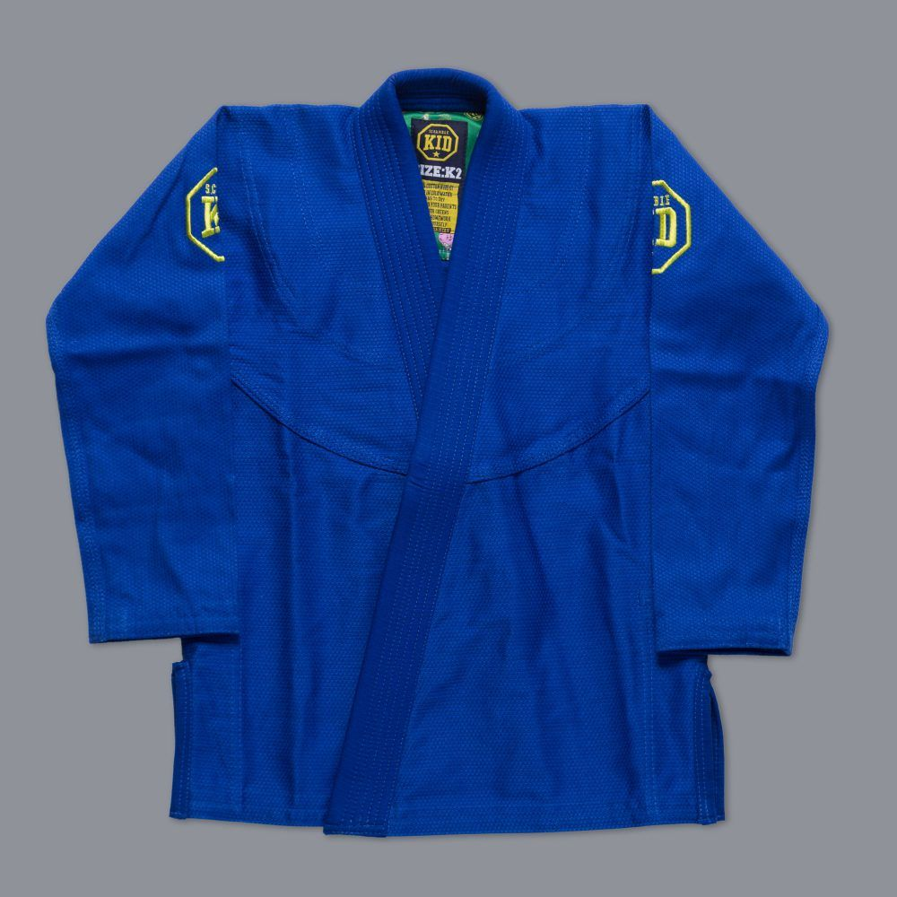 Scramble Kids Gi Blue