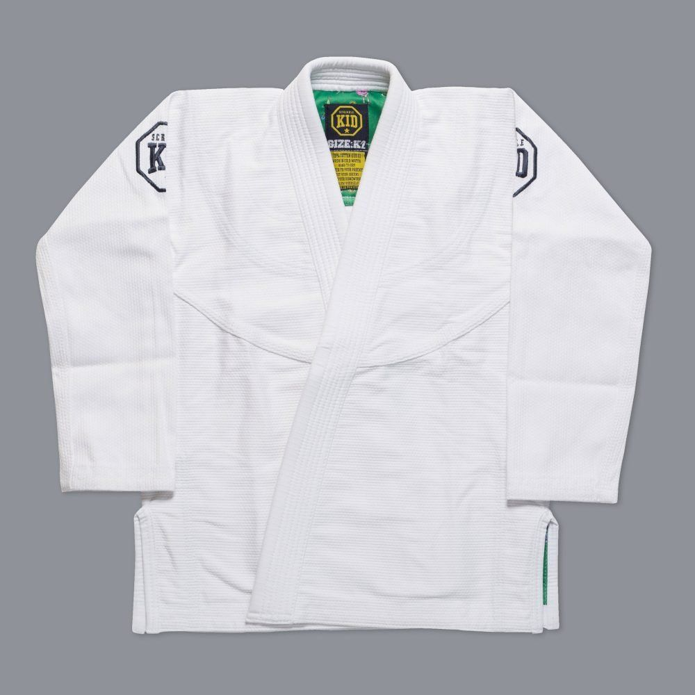 Scramble Kids Gi White