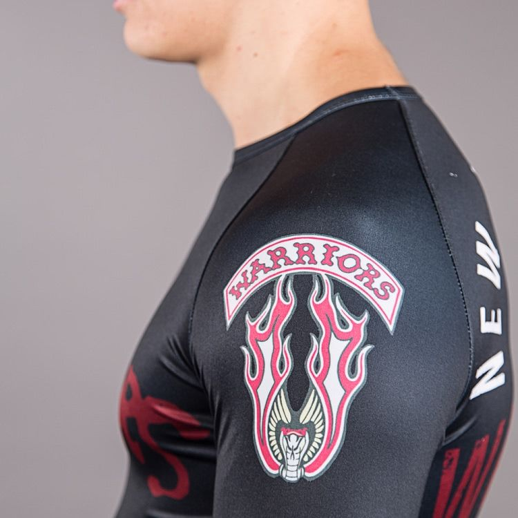 Scramble x The Warriors Official Rash Guard