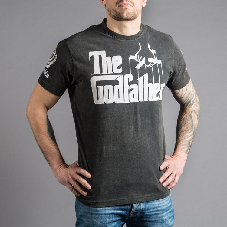 Scramble  x The Godfather Official T-Shirt