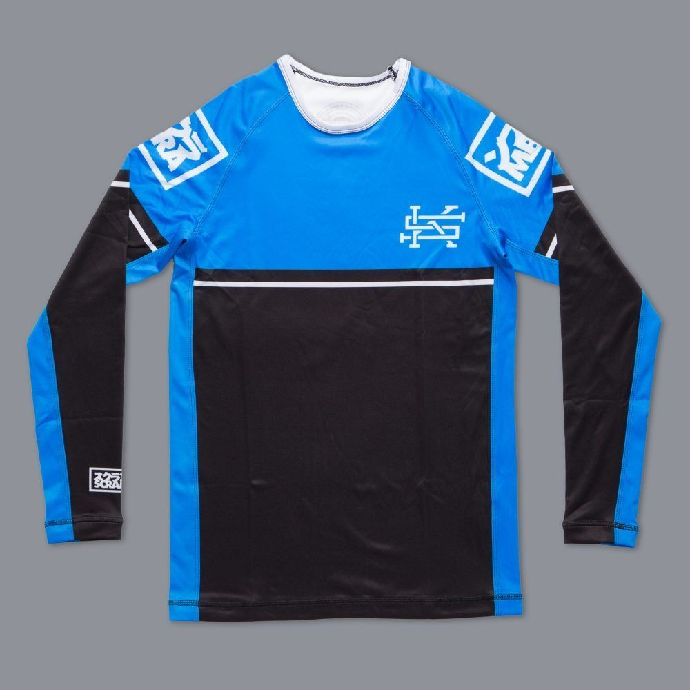 Scramble Ranked Rashguard (V2) - Blue