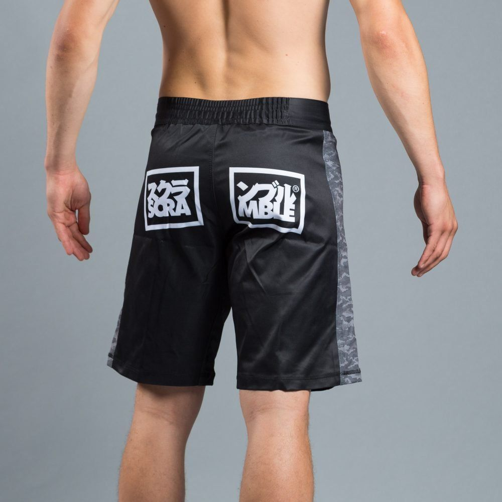 Scramble Kuro Camo Shorts