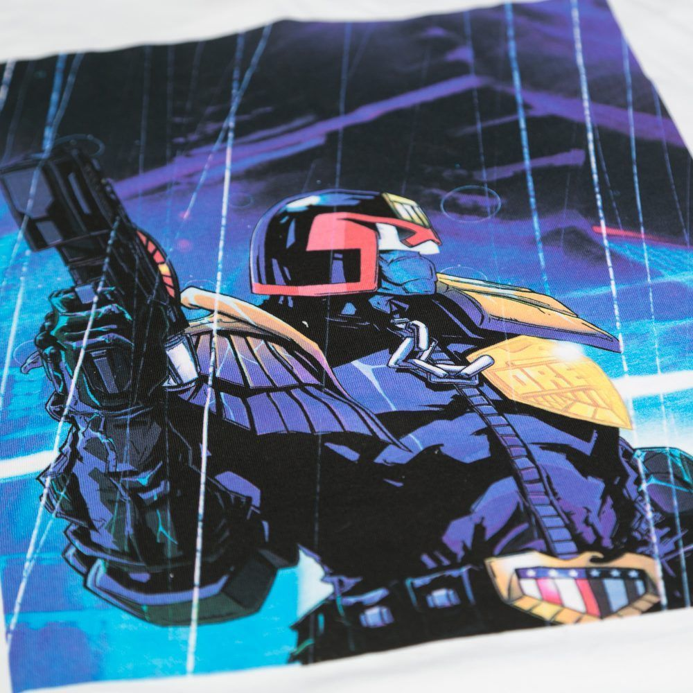 Scramble x Judge Dredd - Dredd Rain T-Shirt