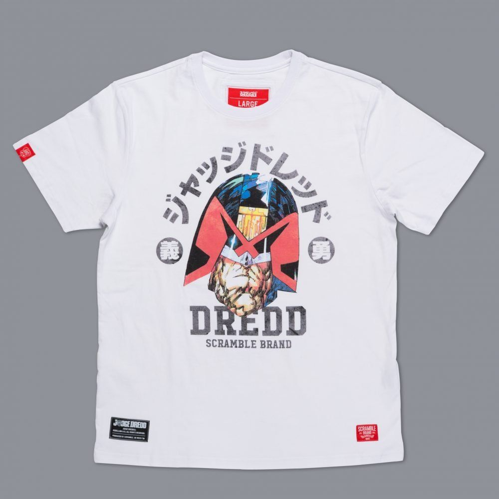 Scramble x Judge Dredd - Dredd Head T-Shirt