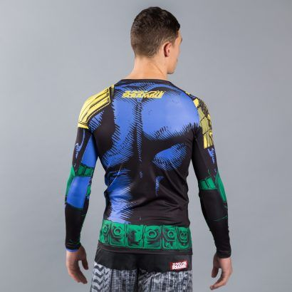 Scramble x Judge Dredd 'The Law' Rashguard