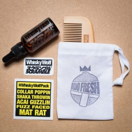 Scramble x Whisky Wolf - Beard Set