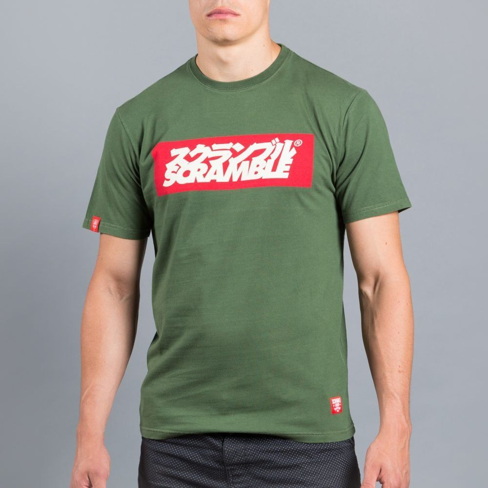 Scramble Grande Logo T-Shirt - Green