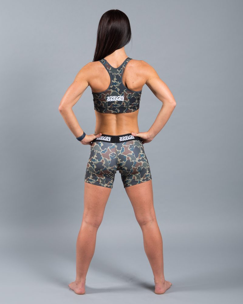 Ladies' Camo VT Shorts