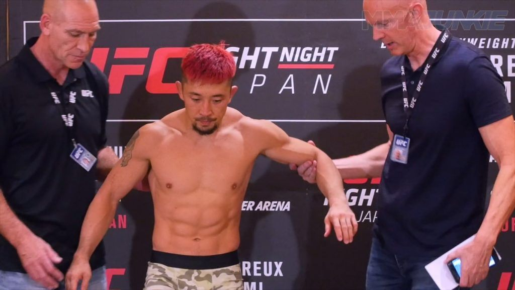 Perils of intensive weight cuts at UFC Japan