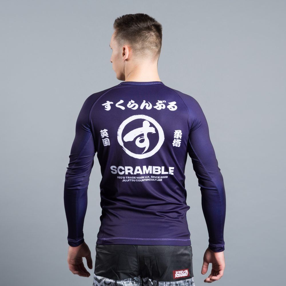 Scramble Brush Logo Rashguard