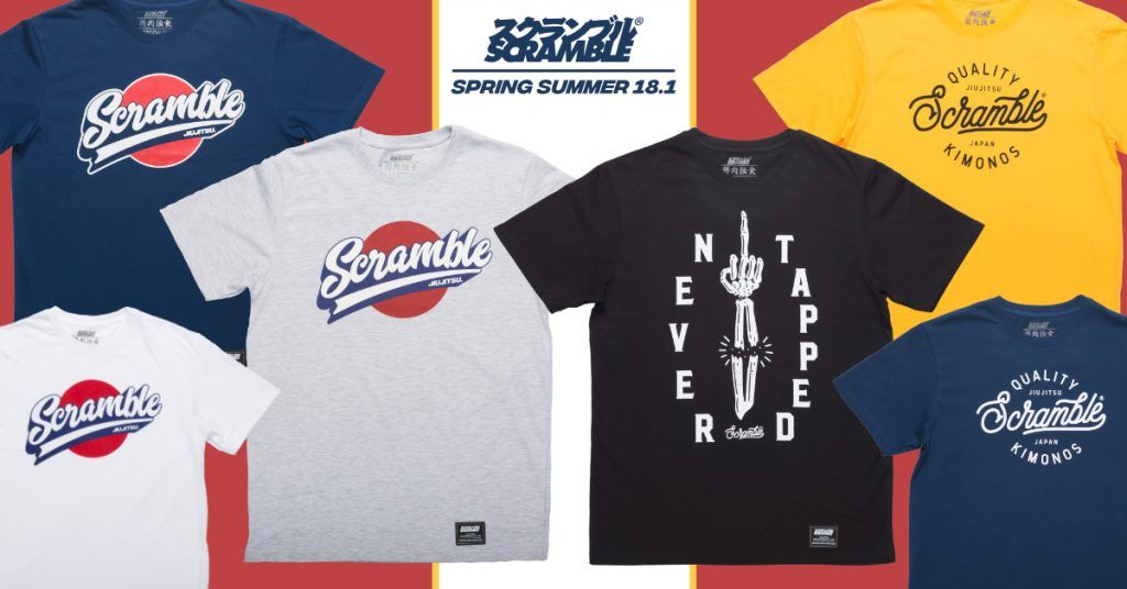 New Range of Tees Released! No less than SIX fresh new shirts on sale now…