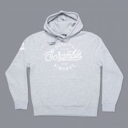 "Scramble ""Quality Kimonos"" Hoody - Grey"