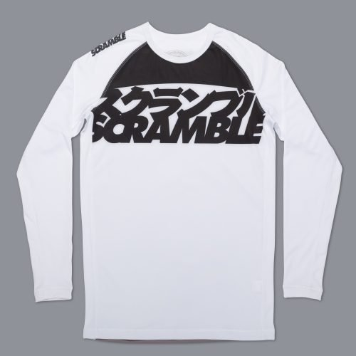 Scramble Ranked Rashguard V3 - Black