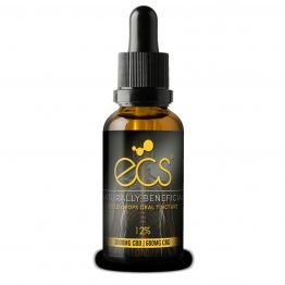 ECS® Gold Drops Oral CBD oil tincture 12%