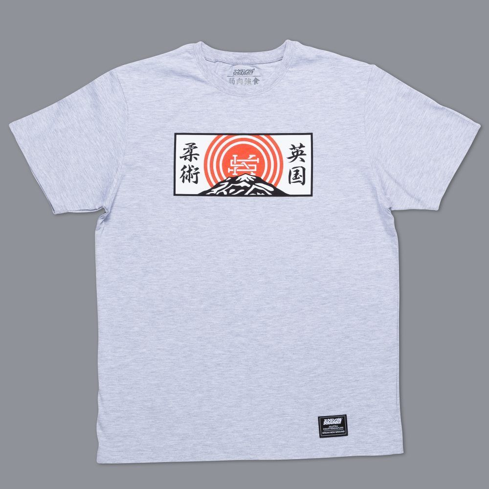 Scramble Mountain T-Shirt - Grey