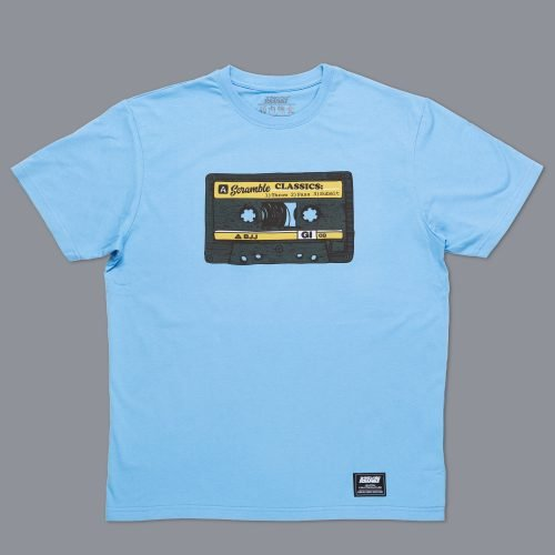 Scramble Old School T-Shirt - Blue