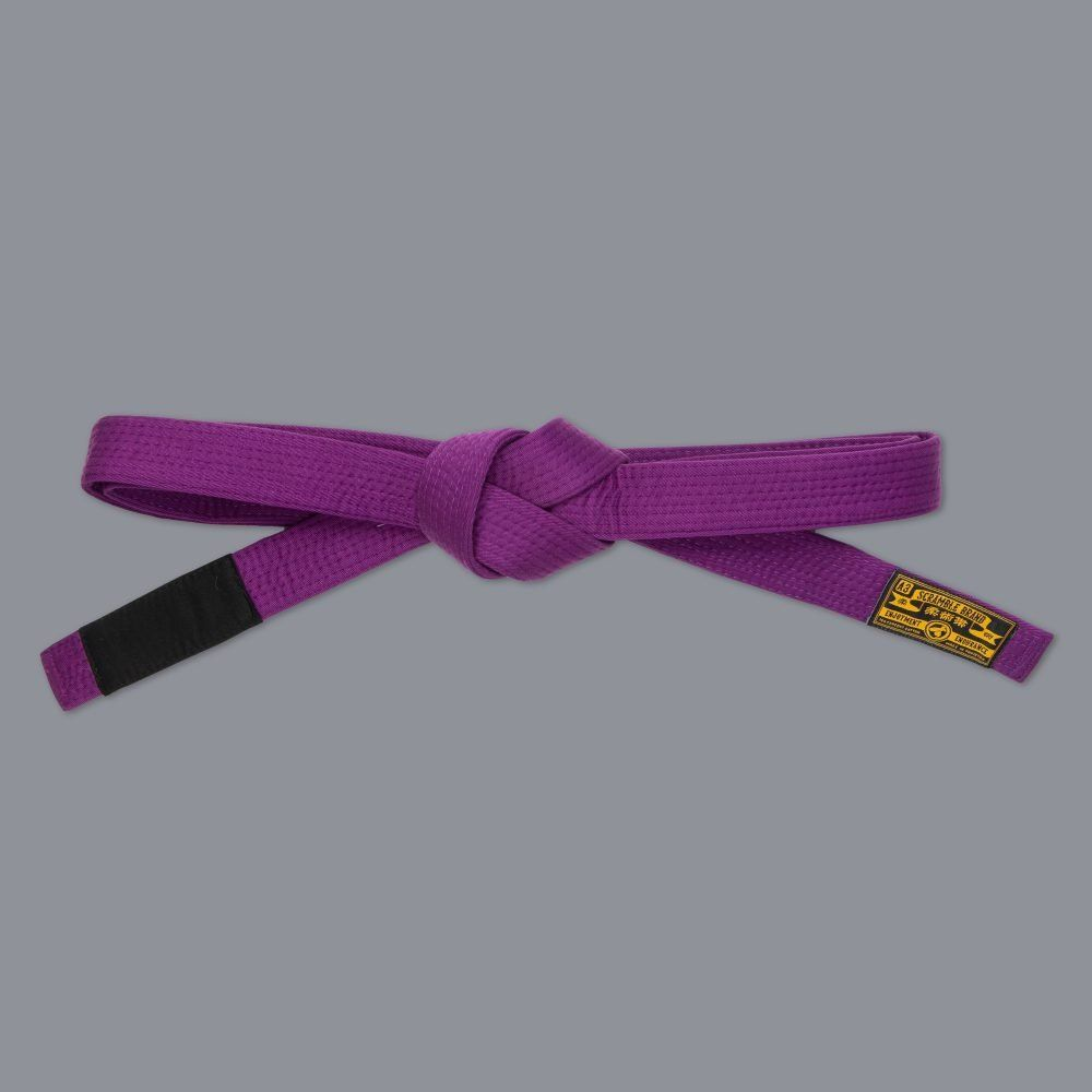 Scramble BJJ Belt V3 - Purple
