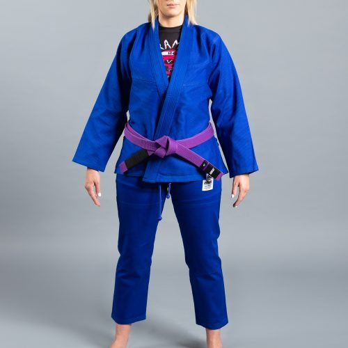 "Scramble ""Standard Issue"" BJJ Gi - Female Cut - Blue"