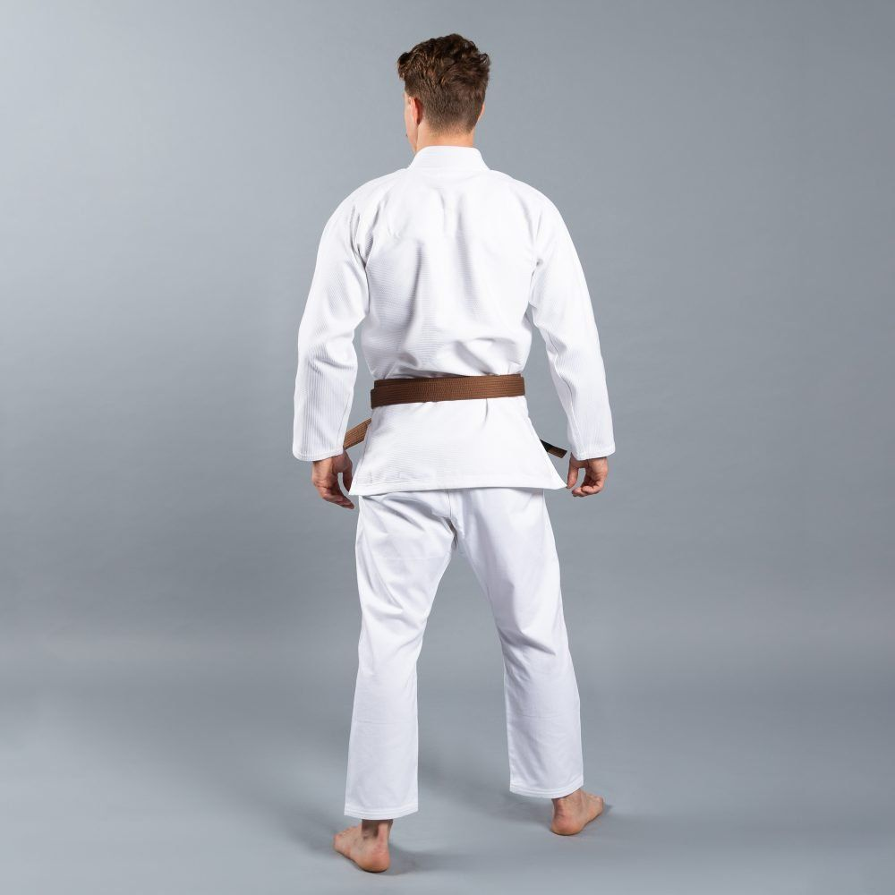 "Scramble ""Standard Issue - Semi Custom"" BJJ Gi - White"