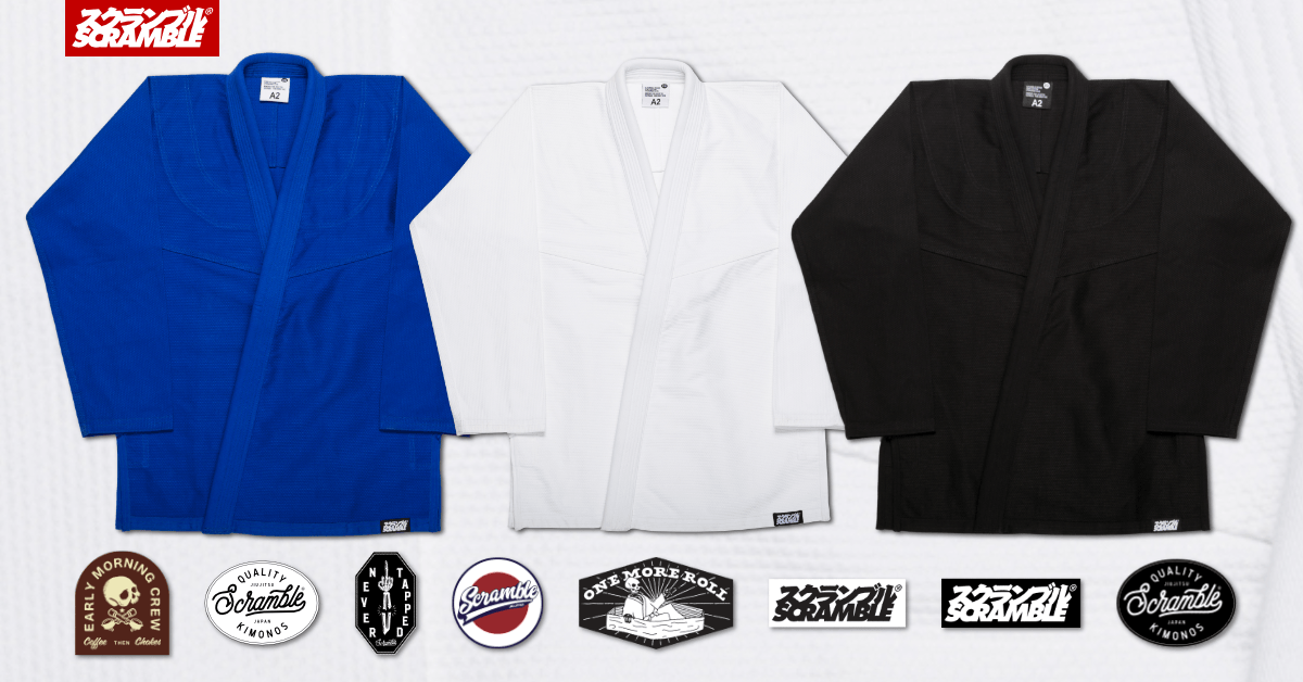 Standard Issue Jiu Jitsu Gi Scramble