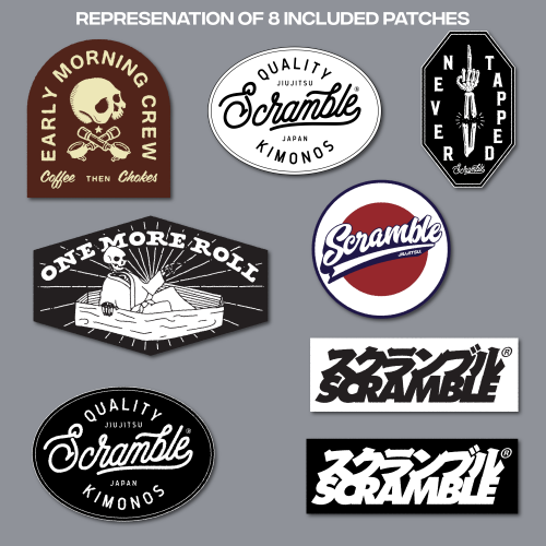 Scramble Patch Pack