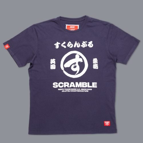 Scramble Big Brush T-Shirt - Navy