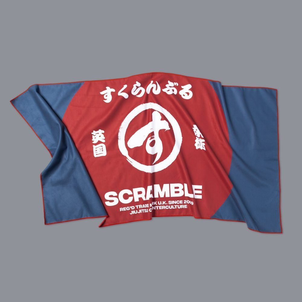 Scramble Brand Microfibre Towel - Big Brush