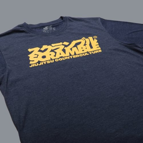 Scramble Counterculture Tee - Heather Navy