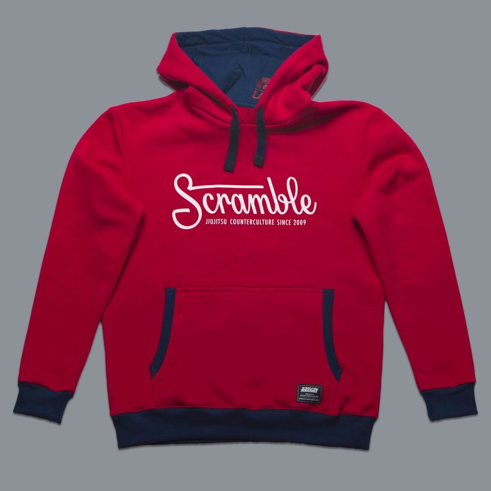 Scramble Letterlogo Hoody - Red
