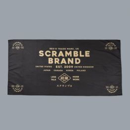 Scramble Brand Microfibre Towel - Less Talk, More Work