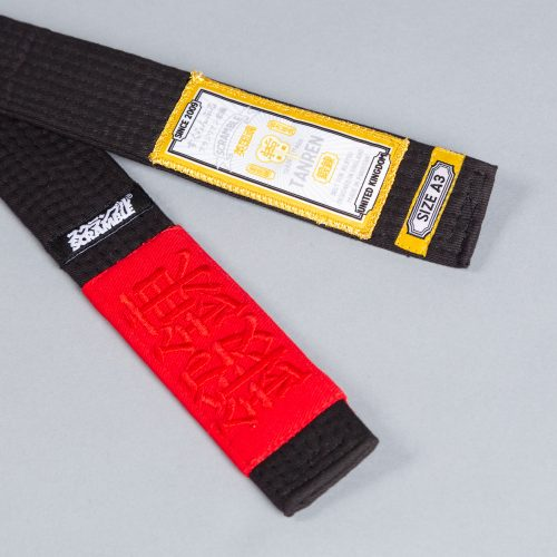 Scramble Tanren v4 BJJ Belt - Black