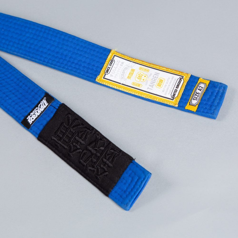 Scramble Tanren v4 BJJ Belt - Blue