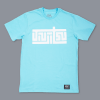 Scramble Block Tee - Blue