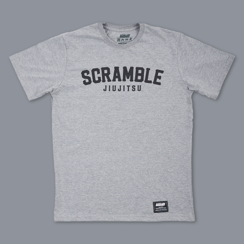 Scramble Nothing Gained Easily Tee - Dark Grey