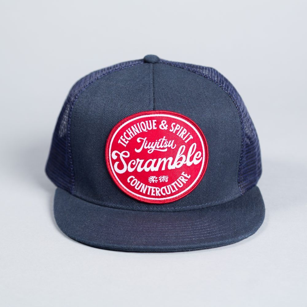 Scramble Technique & Spirit Trucker Hat - Navy