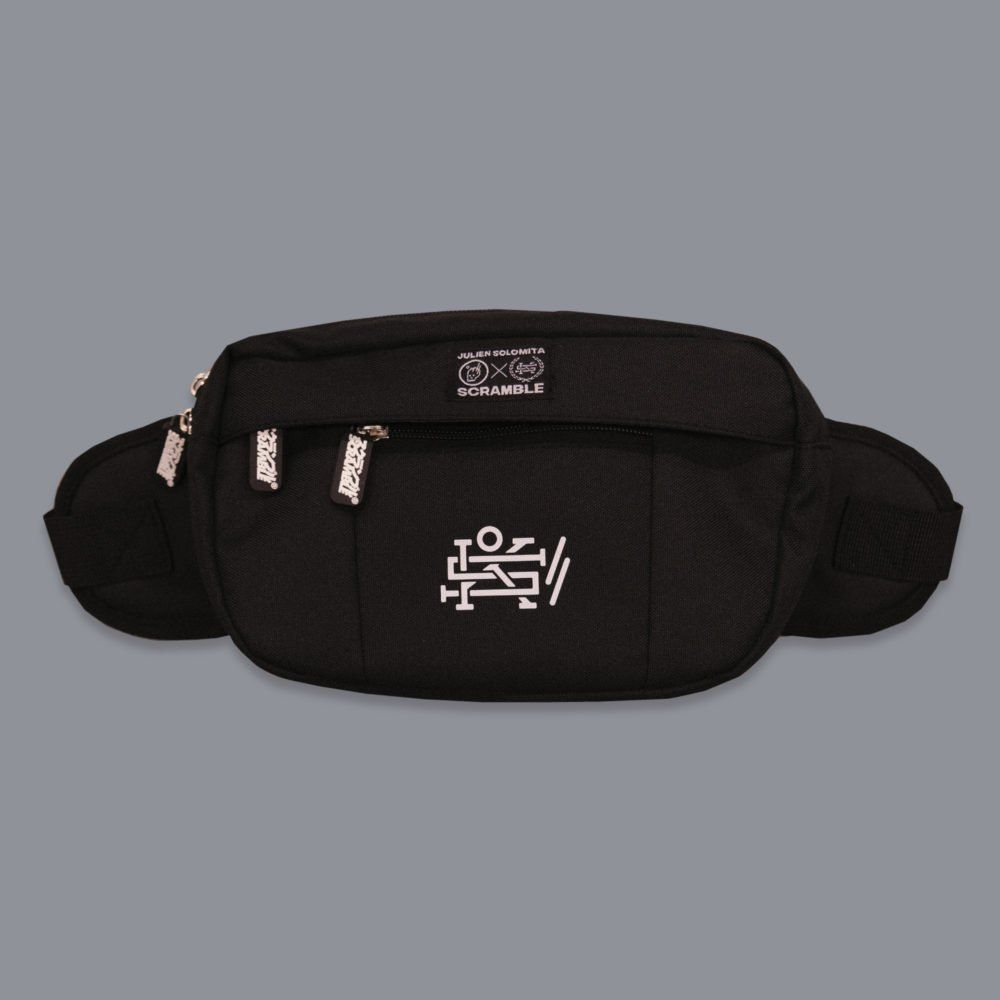 Scramble x Julien Solomita - Fanny Pack - Black Edition