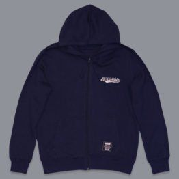 Scramble Technique and Spirit Zip Hoodie - Navy